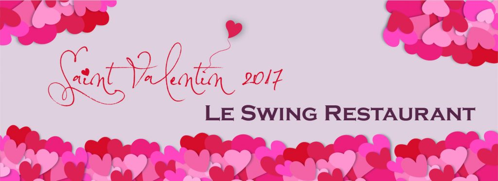 Saint Valentin restaurant le swing stade français paris porte de saint cloud